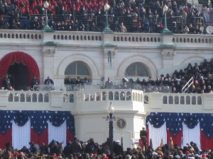 At President Obama's Inauguration